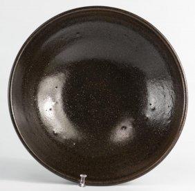 Harding Black (1912-2004), Dark Brown Bowl, 1959