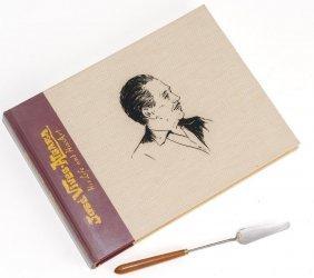 Jose Vives-atsara Estate Catalogue/palette Knife