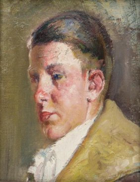 Attributed To Jose Arpa (1858-1952), Portrait Of A Boy