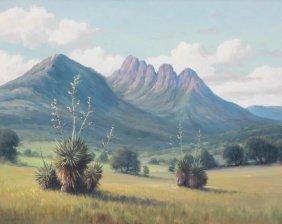 "Dollie Nabinger (1905-1988), ""sawtooth Mountain"",1965"