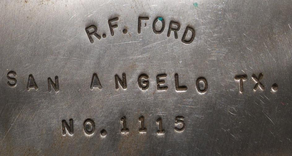 R.F. Ford (San Angelo, TX), No. 1115 spurs - 3