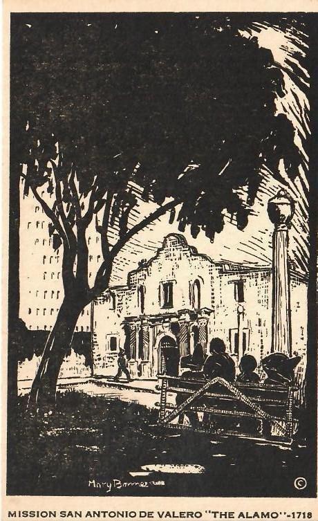 Mary Bonner (1887-1935), Full set of 6 woodblock prints - 3
