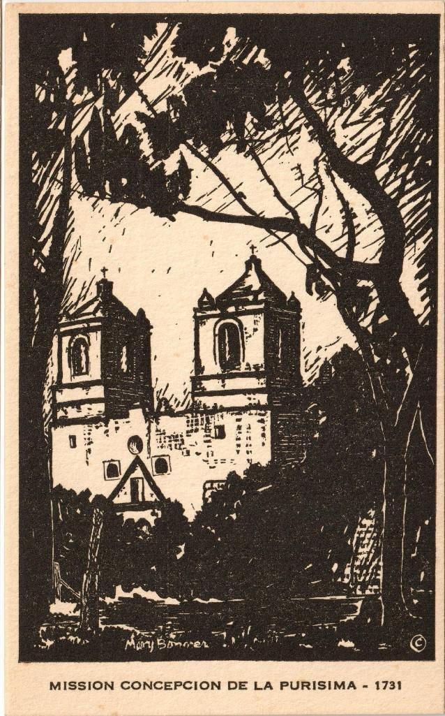 Mary Bonner (1887-1935), Full set of 6 woodblock prints - 5