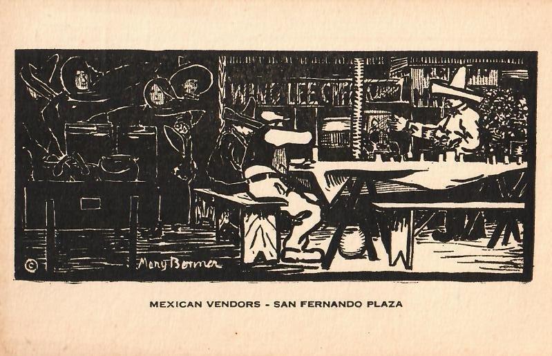 Mary Bonner (1887-1935), Full set of 6 woodblock prints - 7