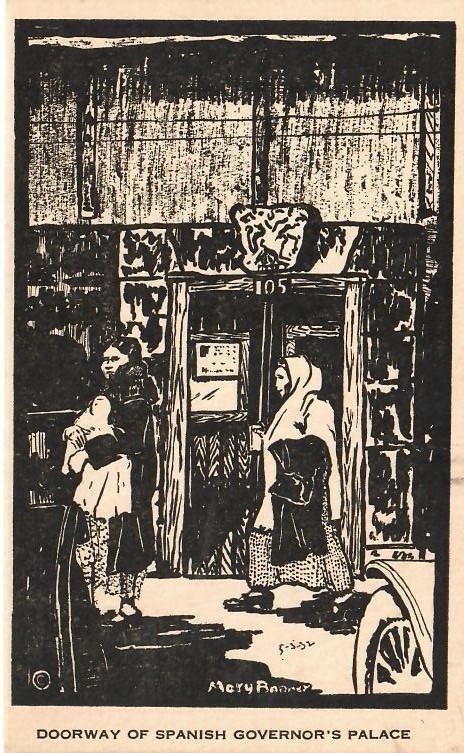 Mary Bonner (1887-1935), Full set of 6 woodblock prints - 8