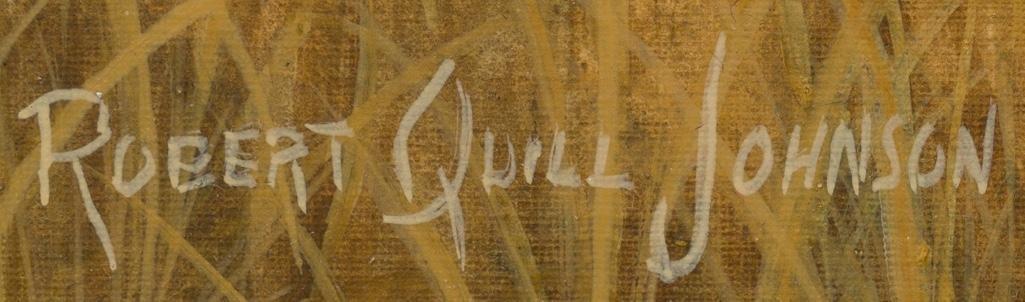 Robert Quill Johnson (1927-1980), Cactus and Quail - 3