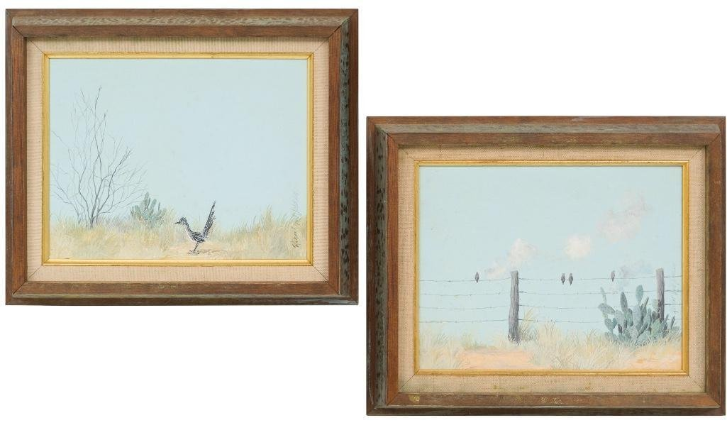 Robert Quill Johnson (1927-1980), Pair of paintings