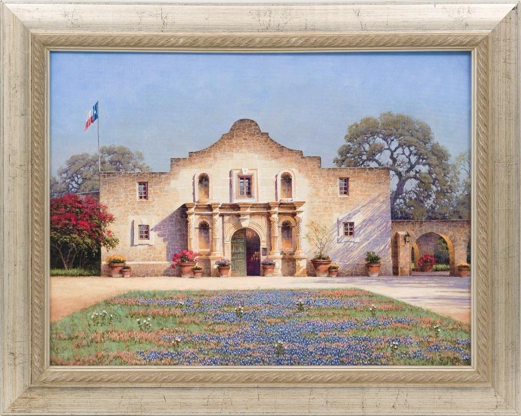 Randy Peyton (b. 1958), Alamo, giclee print on canvas - 2