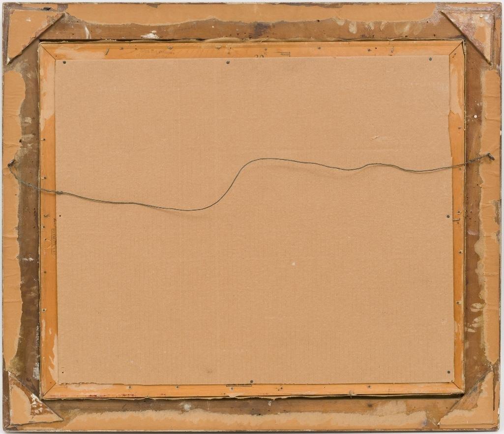 """A.D. Greer (1904-1998), """"Mums"""", oil on canvas - 4"""