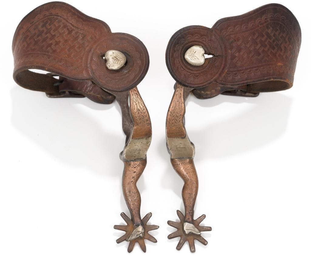 J.R. McChesney, No. 29 spurs, double-double gal leg