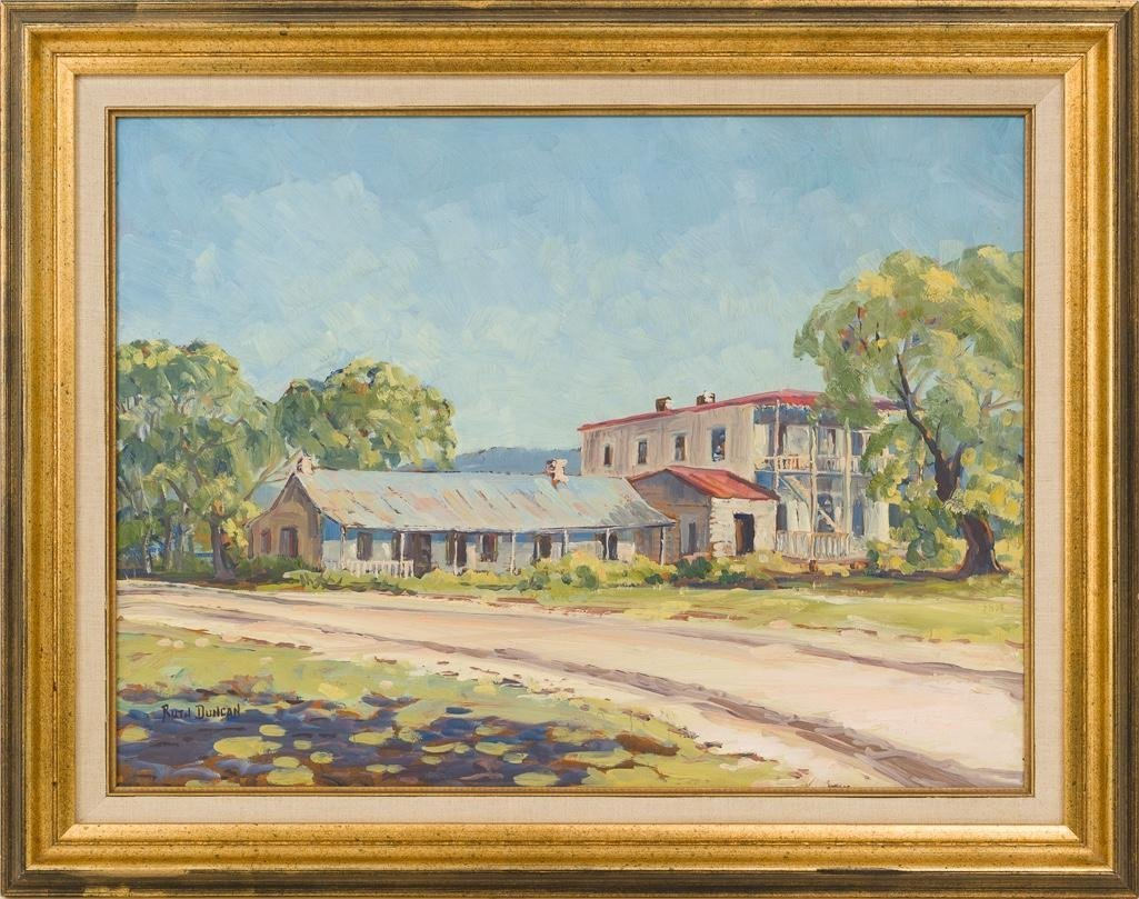 "Ruth Duncan (1908-2002), ""Stage Station, Leon Springs"" - 2"