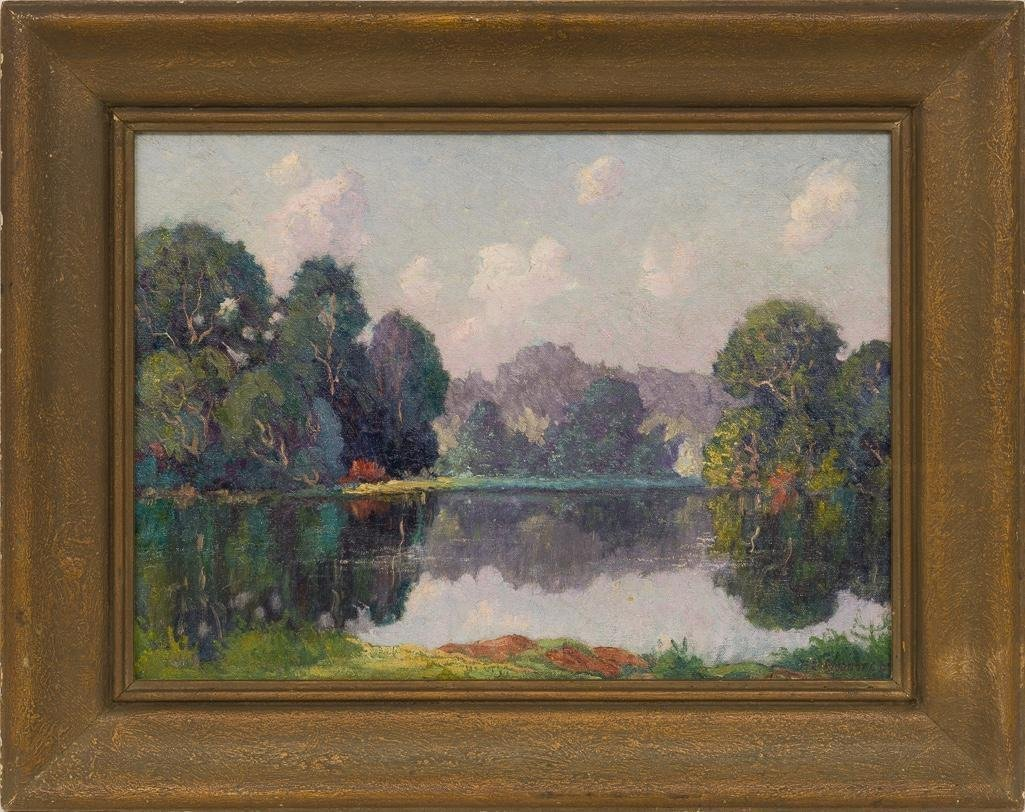 Peter L. Hohnstedt (1871-1957), On the Lake - 2