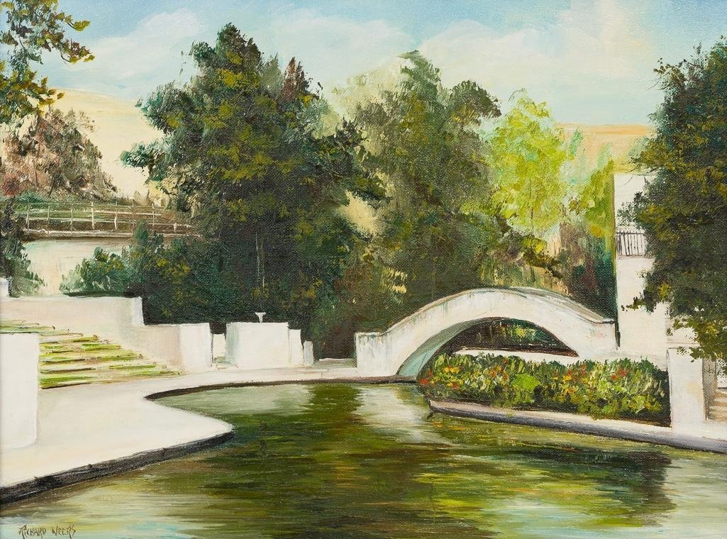 Richard Weers, Arneson River Theater, oil