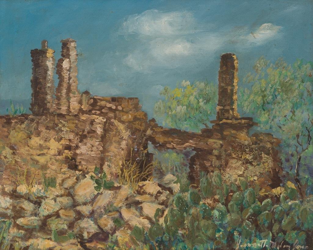 Jeanette Milam Jones (1903-1989), West Texas, oil