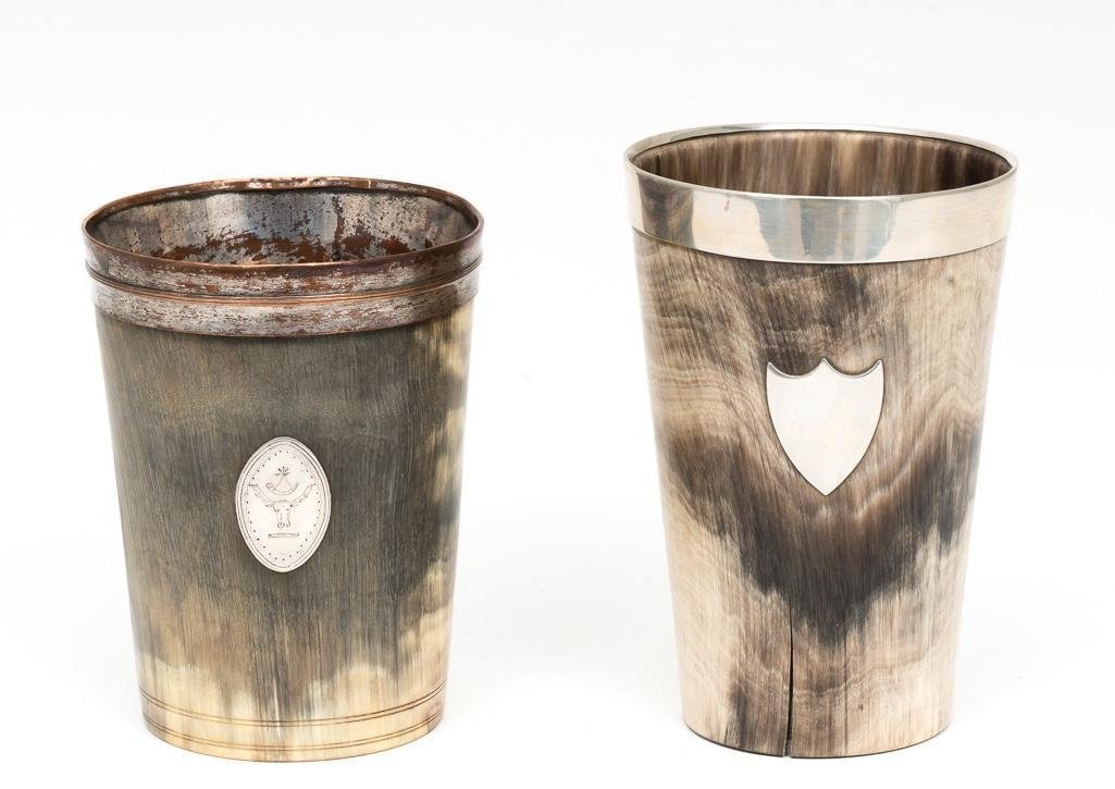 2 Horn Cups