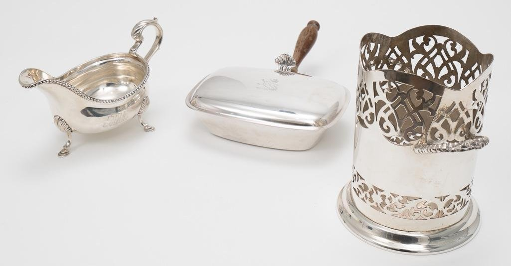 Several Silver Items