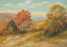 E. P. McGill (1868-1939), Hill Country Colors, oil