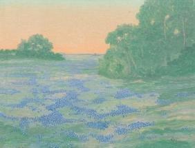 A. B. Jeffreys (1892-1970), Bluebonnets, oil on canvas