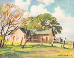 Reveau Bassett (1897-1981), Mrs. Morgan's Place, 1960