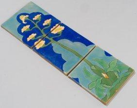 San Jose Art Pottery, Maguey Triptych tiles (set of 3)