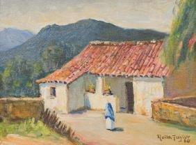 Rolla Taylor (1872-1970), Taxco, Mexico, 1964