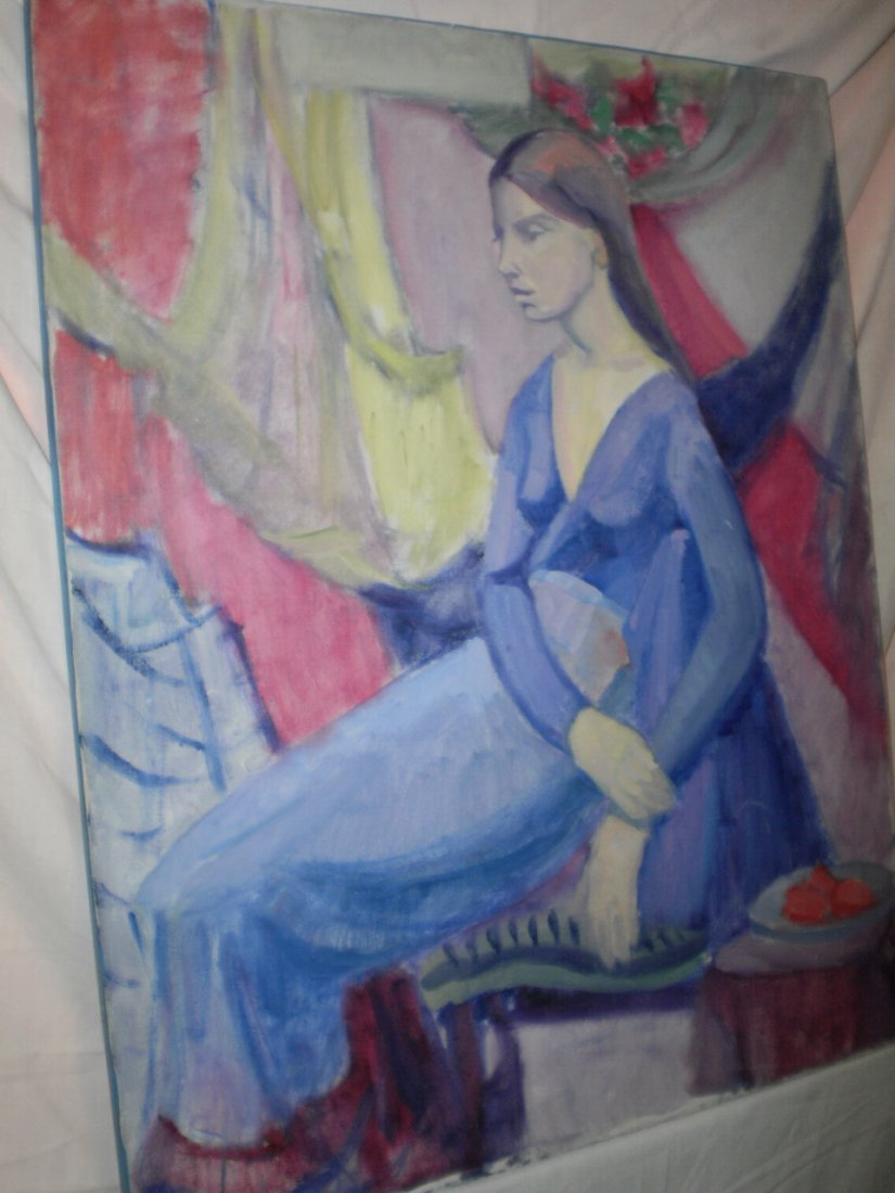 20TH CENTURY FRENCH? AMERICAN? CONTEMPORARY OIL