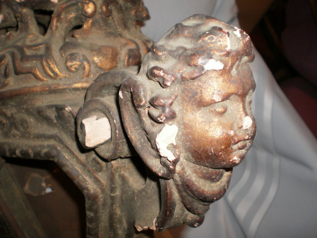 ANTIQUE 15th-16th Century Terracotta CHANDELIER