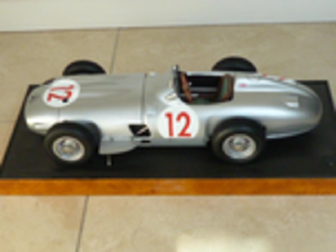 Javan Smith 1/8 scale model Mercedes W196.