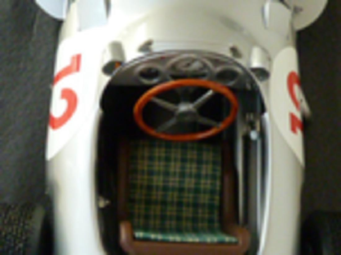 Javan Smith 1/8 scale model Mercedes W196. - 3