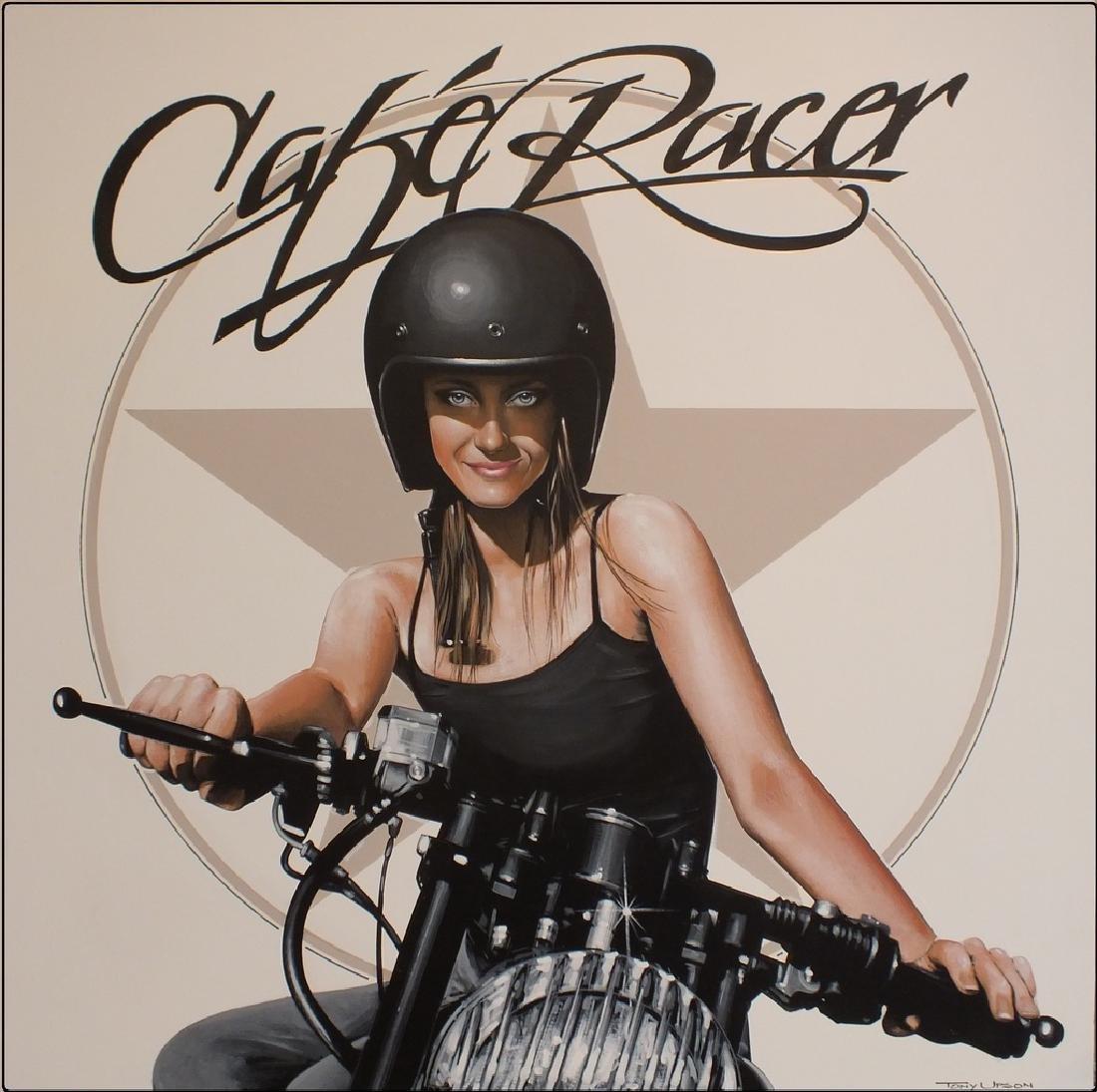 """Cafe Racer"", by Tony Upson."