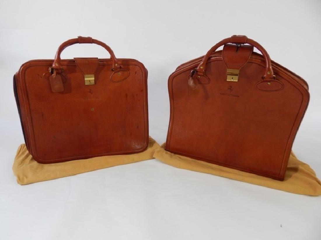 Ferrari Testarossa Schedoni Leather luggage set. - 3