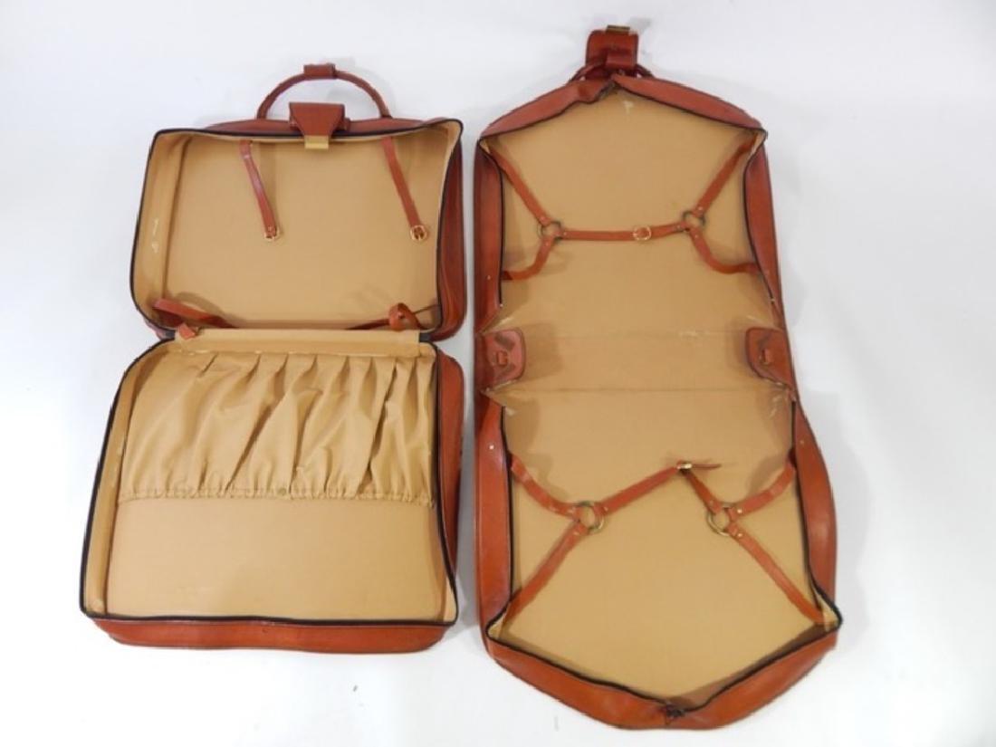 Ferrari Testarossa Schedoni Leather luggage set. - 4