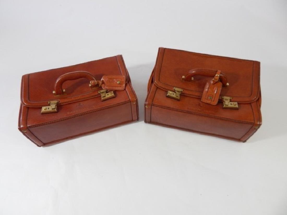 Ferrari Testarossa Schedoni Leather luggage set. - 7