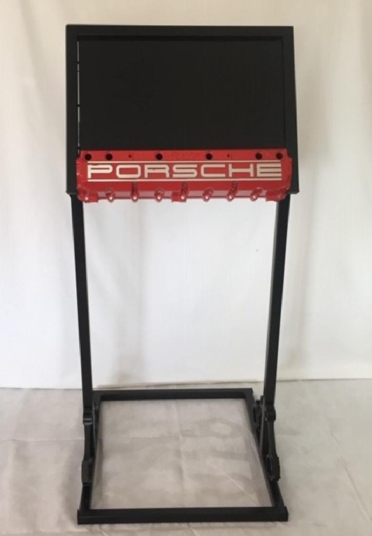 Porsche display stand.