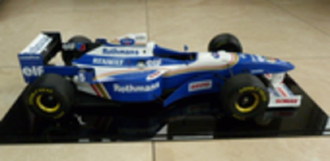 Williams FW18 1/8 scale model.