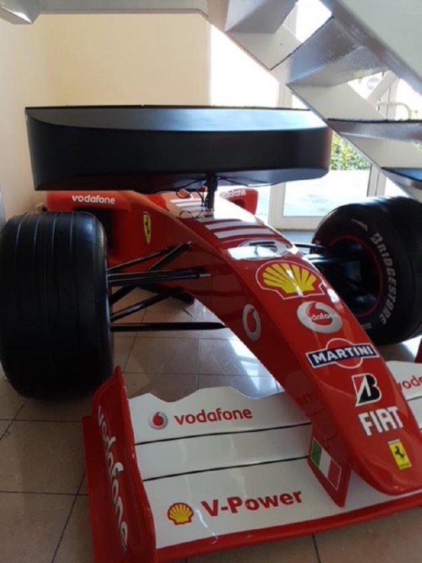 Ferrari Fi official 2006 F1 simulator.