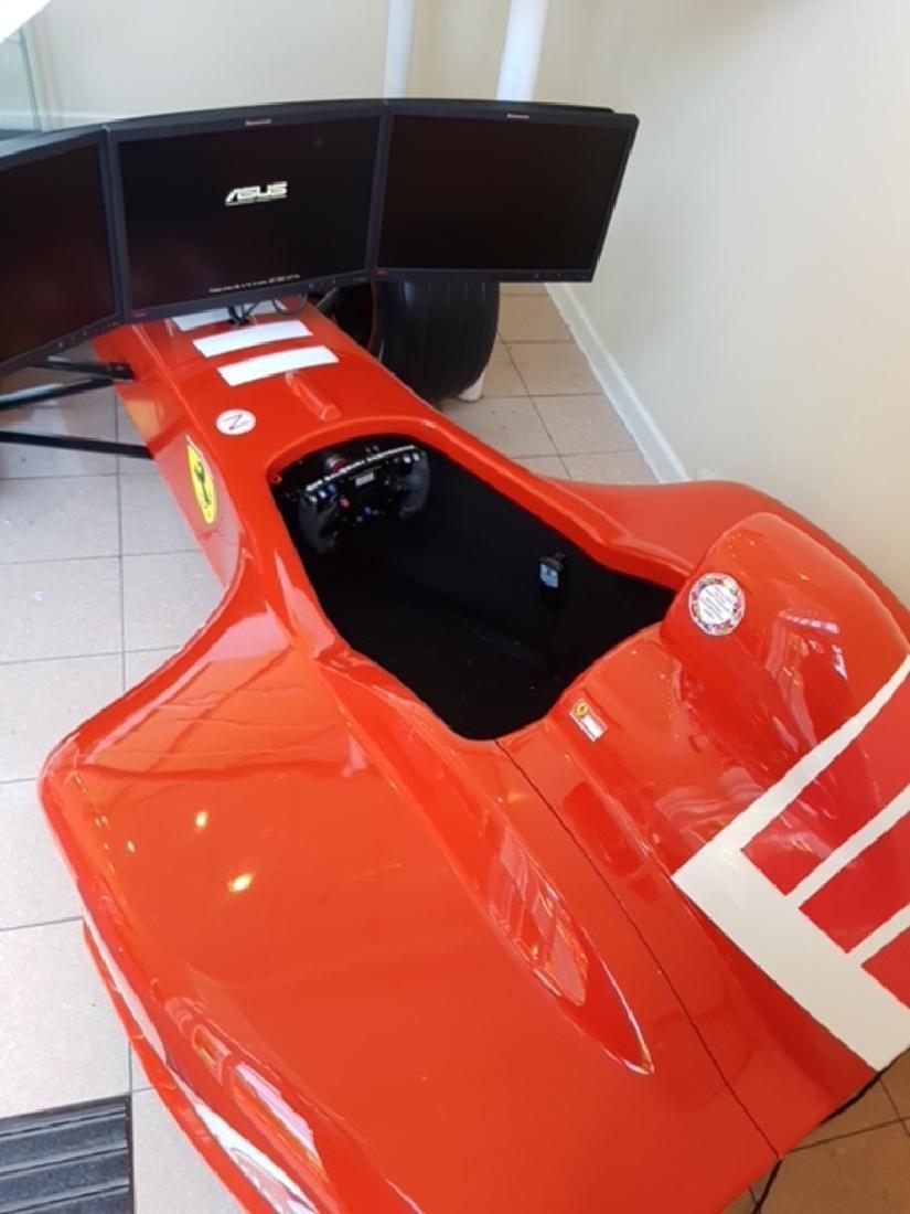 Ferrari Fi official 2006 F1 simulator. - 2