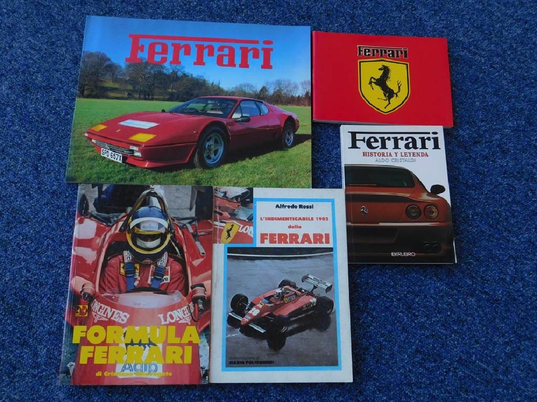 Quantity of Ferrari related books - 3