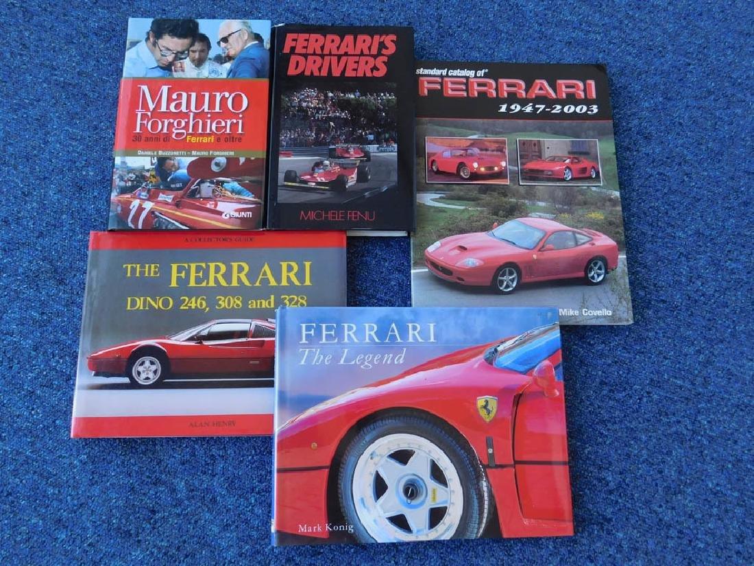 Quantity of Ferrari related books - 6