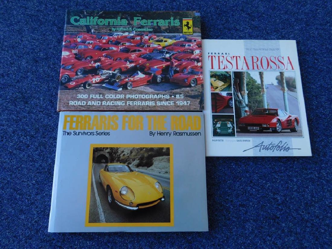Quantity of Ferrari related books - 7