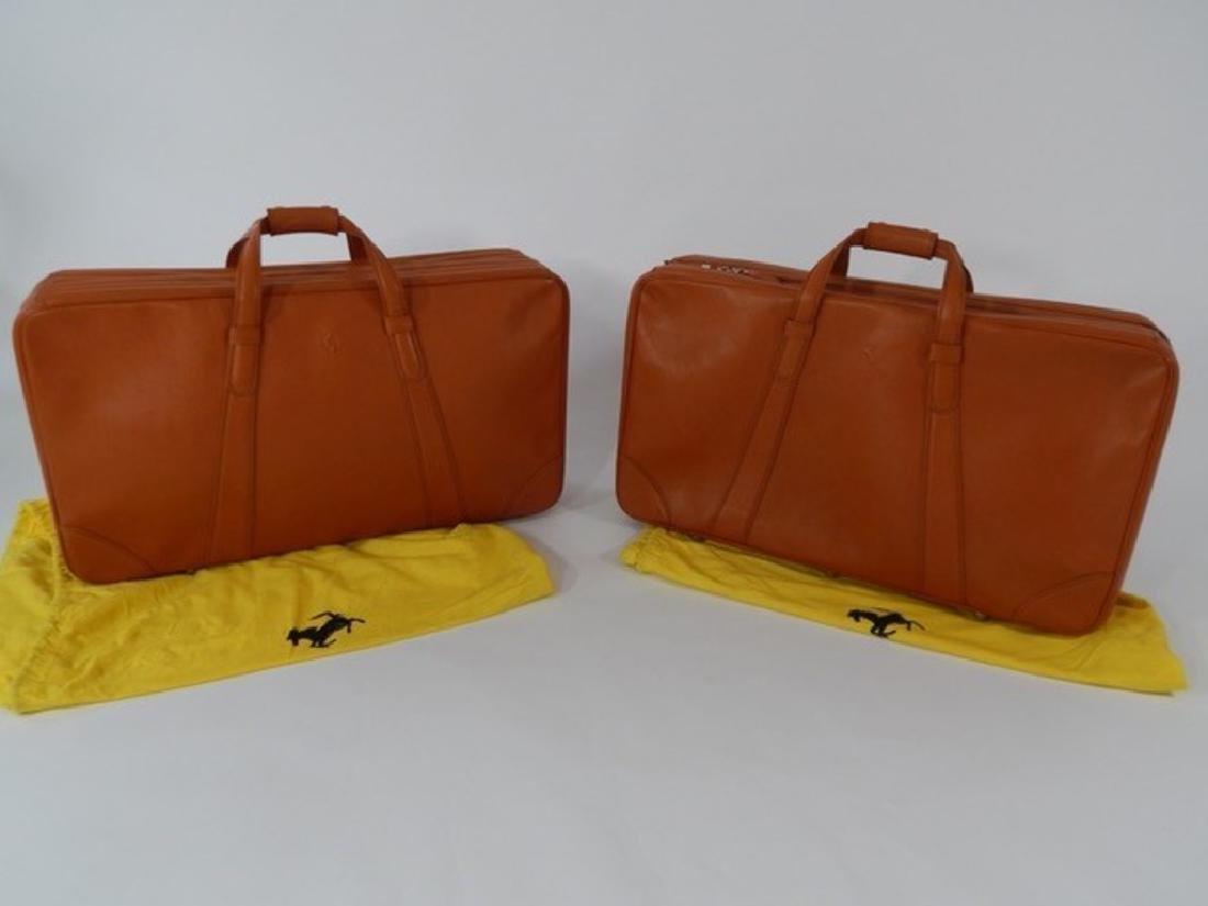 Ferrari 550 6 piece Schedoni luggage set. - 3
