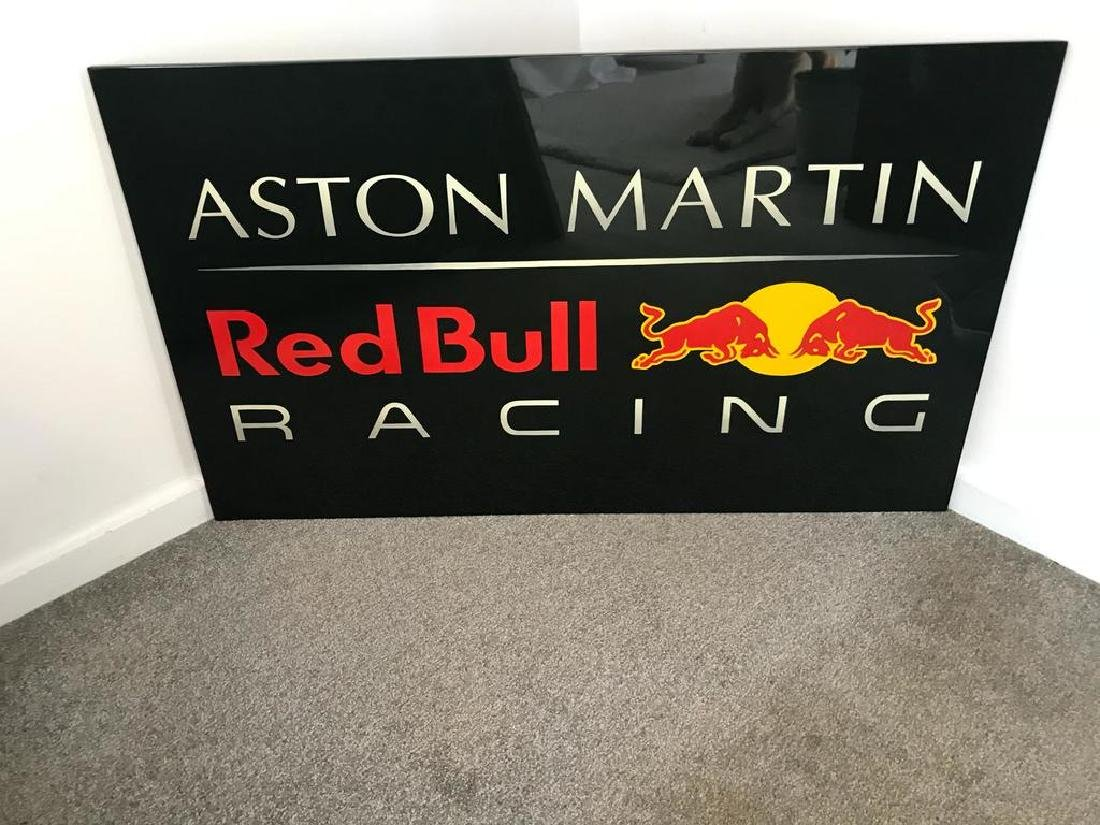 Aston Martin-Red Bull Racing wall sign.