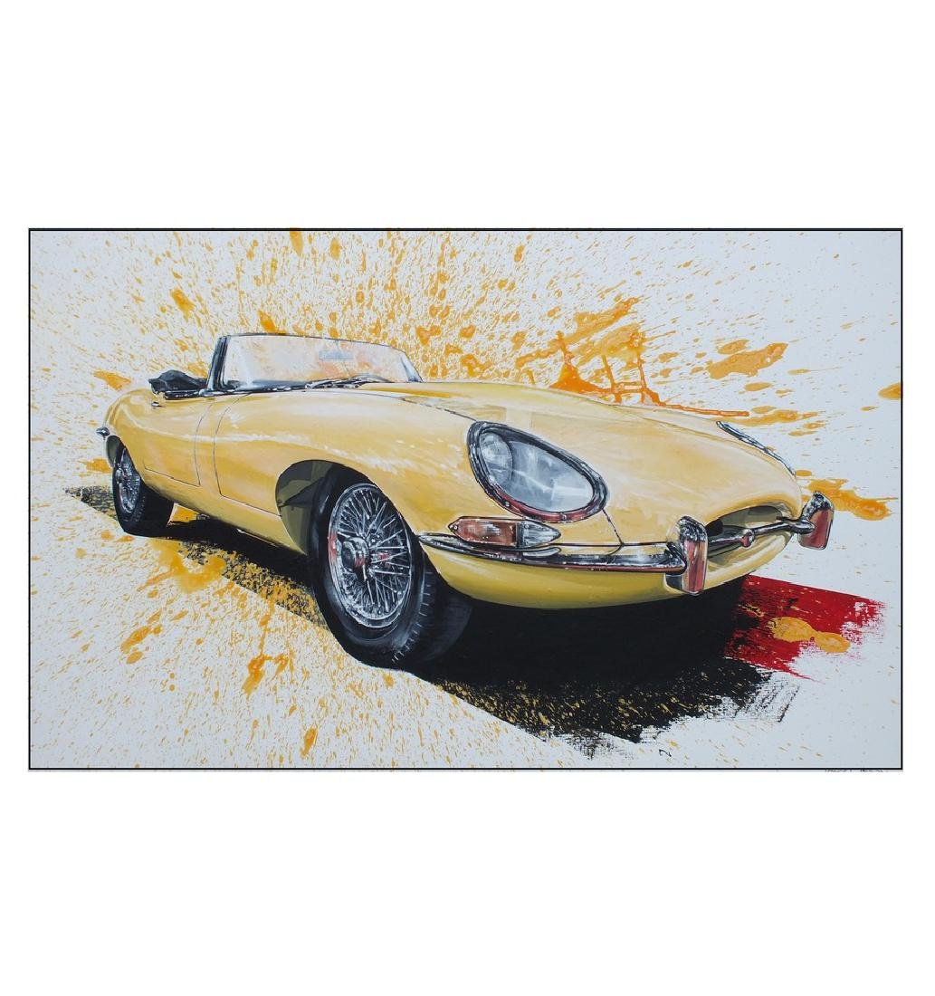 """E-Type Jaguar"", by Tony Upson."