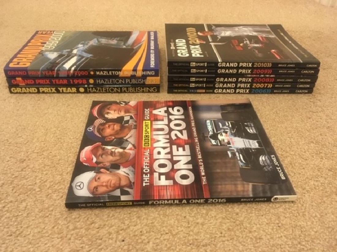 A selection of motorsport related volumes. - 2