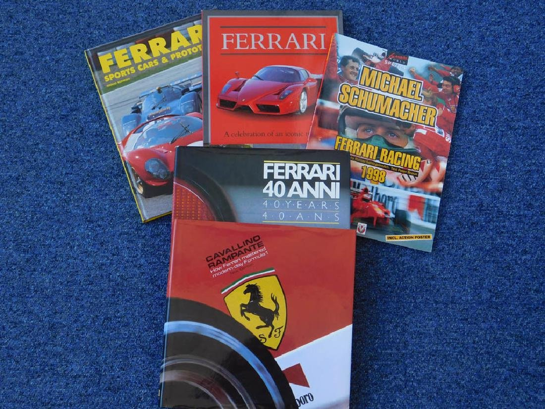 Quantity of Ferrari related books - 2