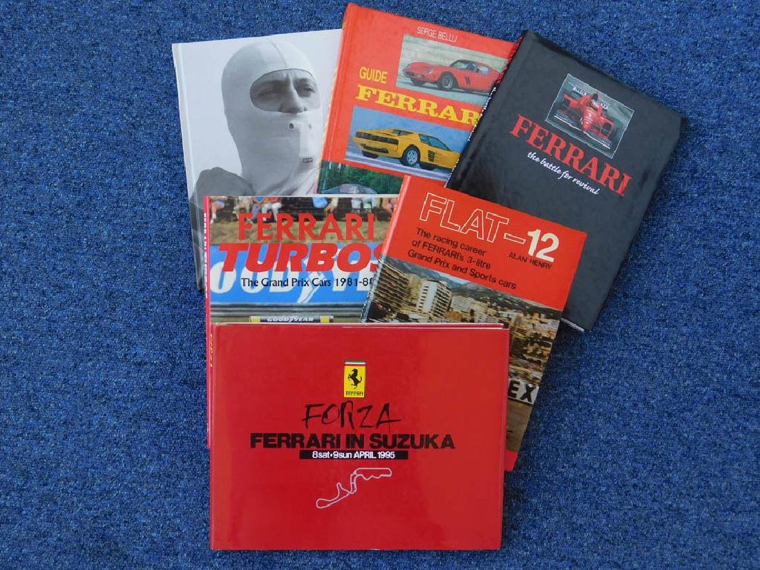 Quantity of Ferrari related books - 4
