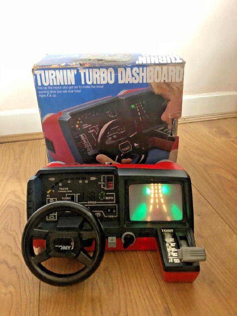 "Tomy ""Turbo Turnin'"" Porsche Dashboard Game*"