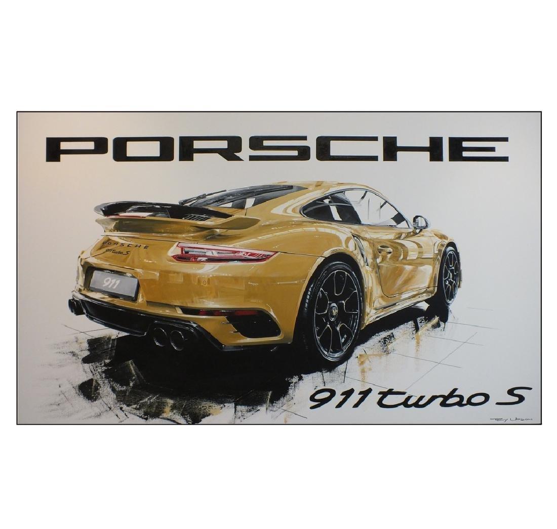 """Porsche Turbo S"" by Tony Upson."