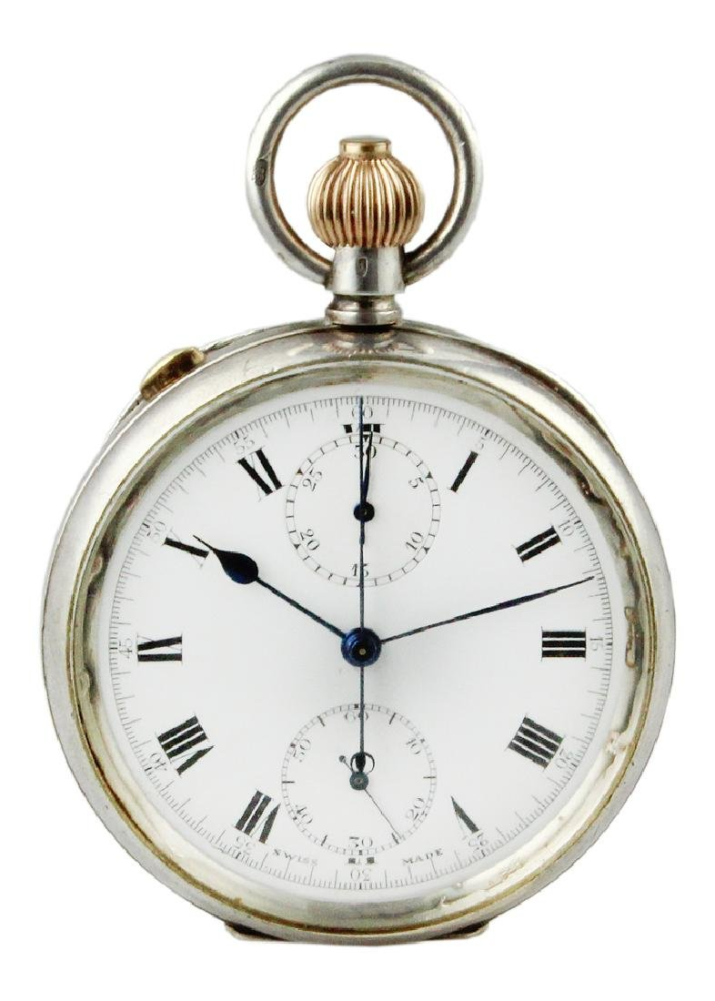 1927 Chronograph Split Seconds Pocket watch.