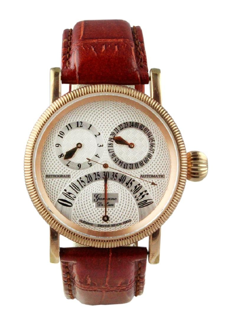 Garonne De Luxe Retrograde Regulator Automatic.